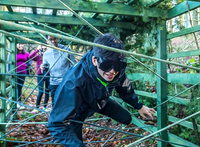 Assault Course at Forest of Dean Adventure